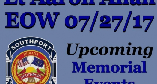 Fundraisers and Events for Lt. Aaron Allan